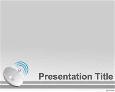 Satellite Powerpoint Template Satellite Ppt Template Free