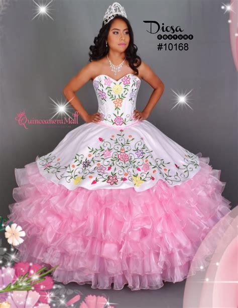 quinceanera colors multi color flowers quinceanera dress 10168qm