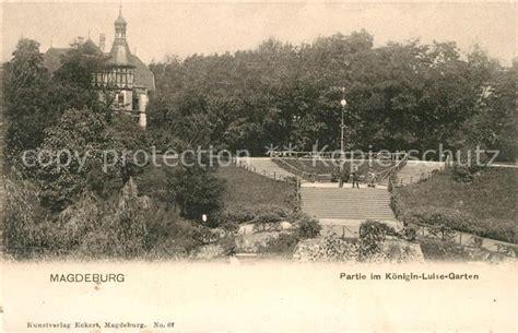 garten in magdeburg ak magdeburg im garten des klosters u l frauen nr