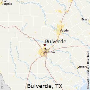 map of bulverde texas best places to live in bulverde texas