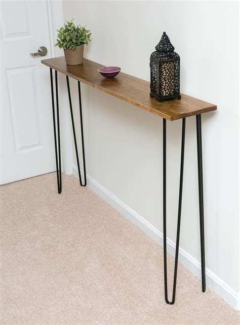 narrow table 25 best ideas about narrow console table on