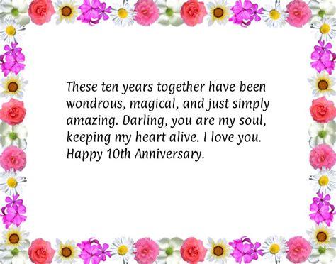 Wedding Anniversary Poems Short
