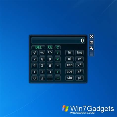 calculator windows 7 vista calculator windows 7 desktop gadget