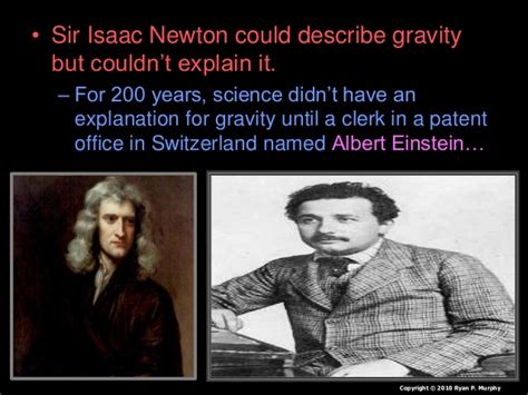 isaac newton biography powerpoint einstein e mc2 relativity gravity spacetime lesson