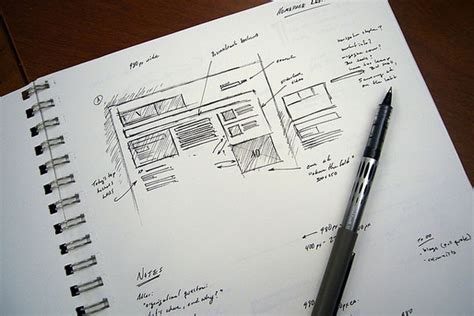 sketchbook web 24 professional exles of web and mobile wireframe