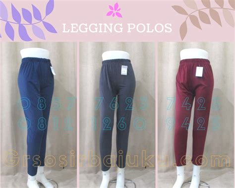Celana Legging Warna Polos by Pusat Grosir Celana Legging Polos Dewasa Murah 20ribuan