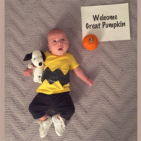 halloween costumes for 4 month old parents dress their cute four month old baby boy noah in a
