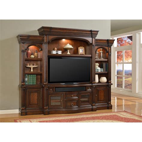 4 Pc Parker House Estate Versailles Entertainment Center