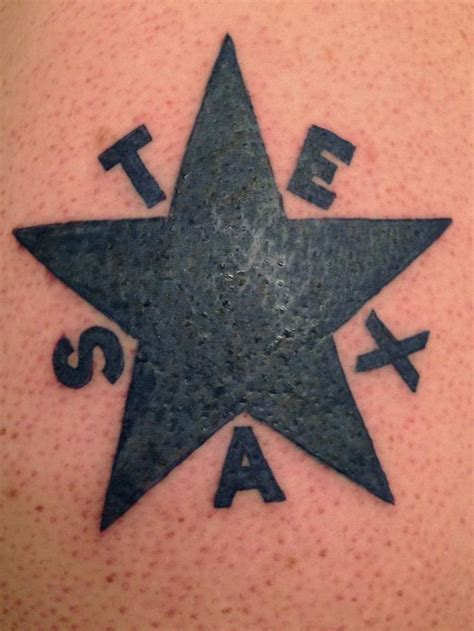 texas star tattoo 25 best ideas about flag on
