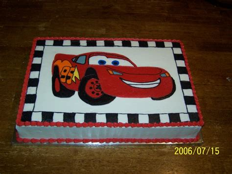 Oblong Baby Victory Boy Size 3 Tahun pin lightning mcqueen birthday cake mlivecom cake on