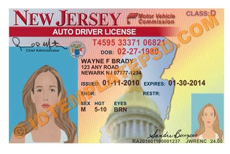 nyc dob designated foreman card template usa drivers license template images