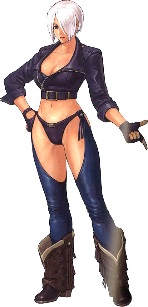 imagenes kof hot king of fighters xiv angel by hes6789 on deviantart
