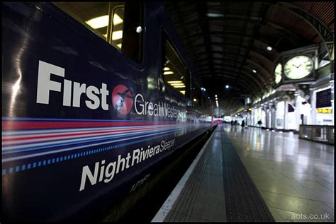 Great Western Sleeper by Great Western Riviera Sleeper At Paddington