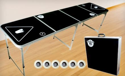 pong tables coupon code 59 for a portable 8 pong table groupon