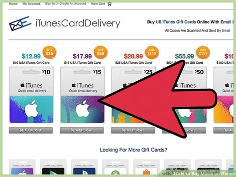 How To Buy Songs On Itunes With Gift Card - how to buy music on itunes 12 steps with pictures wikihow