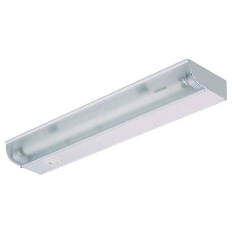 Florescent Light Fixtures Ge 18 In Fluorescent Light Fixture 16466 The Home Depot