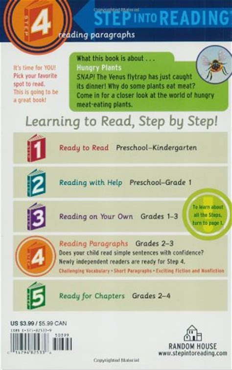 Step By Step Readings In For Iain Students Azhar Arsyad hungry plants step into reading step 4 paperback in the uae see prices reviews and buy in