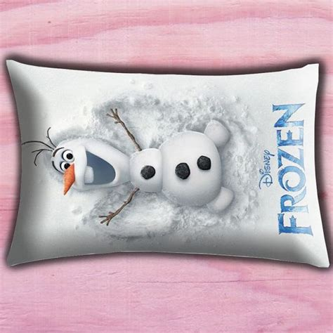 Olaf Pillow by Disney Frozen Olaf Poster Pillow Cover Pillow Throw