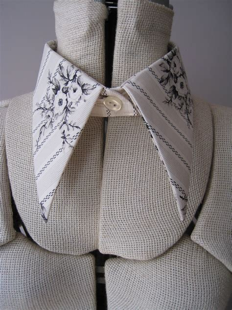 yarness pattern super pointy detachable collar pattern cut and sewn