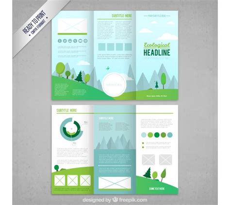 brochure ai template tri fold brochure template 20 free easy to customize designs