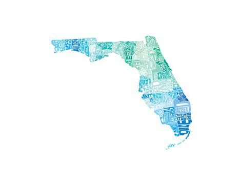 Florida Cool | typographic florida cool premium giclee print by capow at