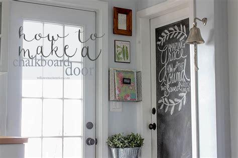 Diy Door Store by How To Make A Chalkboard Door