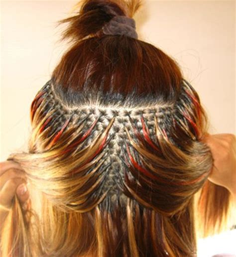 hairstyles with fusion hair extensions 20 best projects to try images on pinterest weaving
