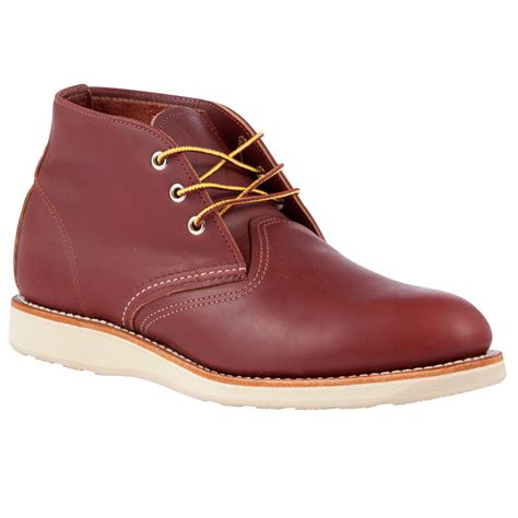 chukka work boots wing heritage work leather chukka boots in brown for