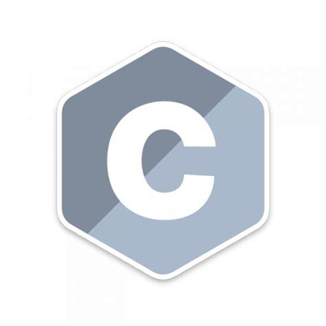 c com c programming language sticker unixstickers