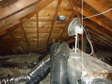 attic power vent fan attic fans won t fix ice dams