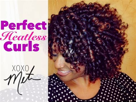 heatless hairstyles shoulder length hair 28 natural hair tutorial perfect heatless curls