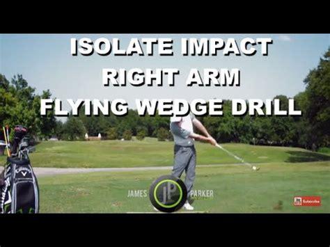 modern golf swing a modern golf swing isolating impact drill