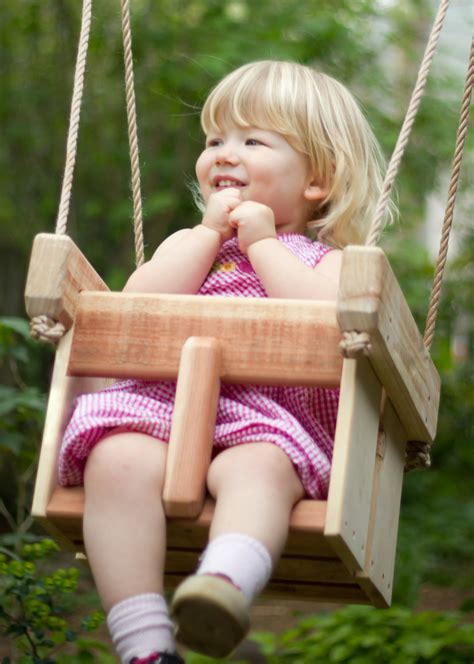 toddler outdoor swings baby swing or toddler swing cedar handmade porch or tree