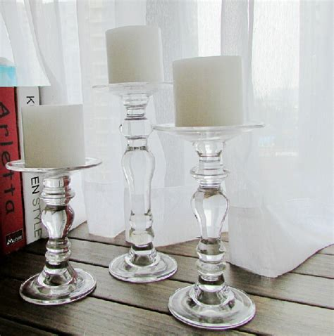 Candle Holders Home Decor Glass Candle Holder Wedding Decoration Candlesticks