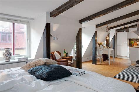 charming light flooded attic apartment in gothenburg