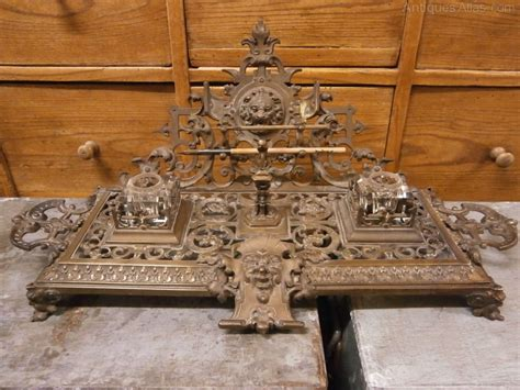 Antique Bronze Desk L by Antiques Atlas Gilt Bronze Desk Stand Depose