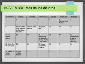 calendario de noviembre de 2015 calendario de actividades noviembre de 2015 actividades