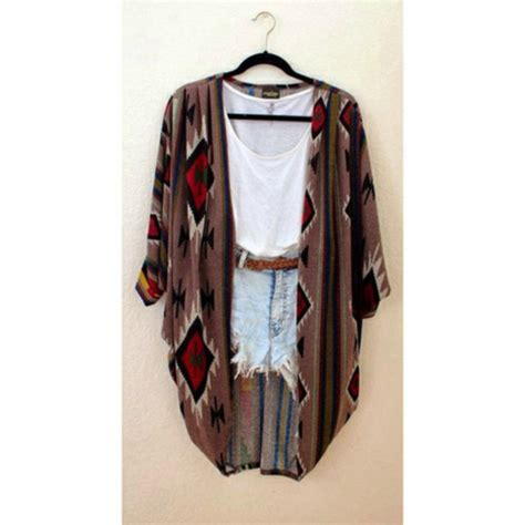 cute jacket pattern jacket cardigan tribal pattern cute tumblr hipster