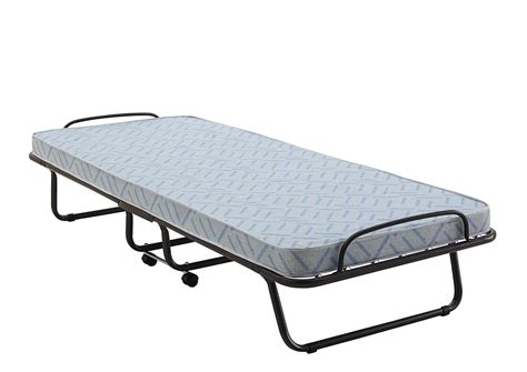 Folding Bed With Mattress Signature Sleep Mattresses Classic Folding Guest Bed With Memory Foam Mattress