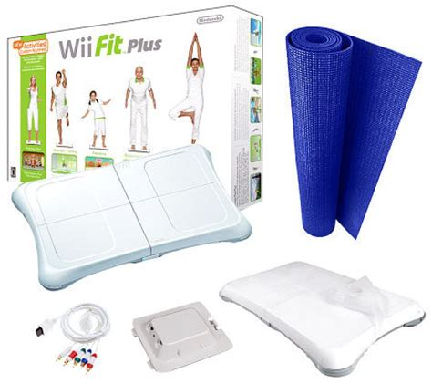 Nintendo Wii Mat by Nintendo Wii Fit Plus Bundle With Mat Accessories