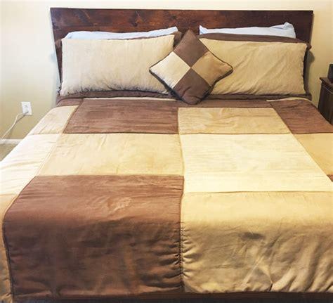 diy king size platform bed howtospecialist