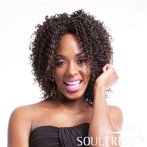 Wig Axela Curly 3 pl pandora by pazazz collection soul tress synthetic lace front tight curl wig ebay