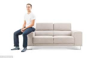 Sit On Sofa by What Does Your Sofa Sitting Position Say About Your