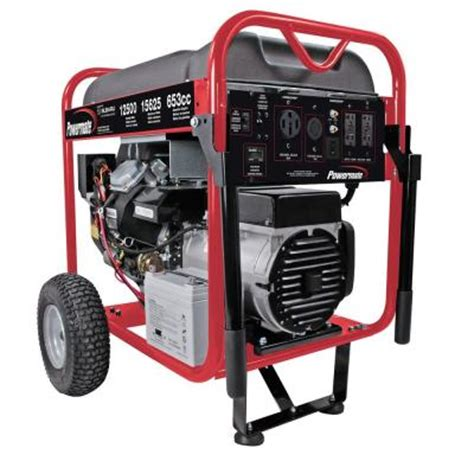 powermate 12 500 watt gasoline powered electric start
