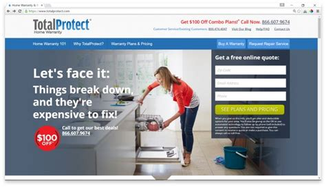 total protect home warranty customer service home review