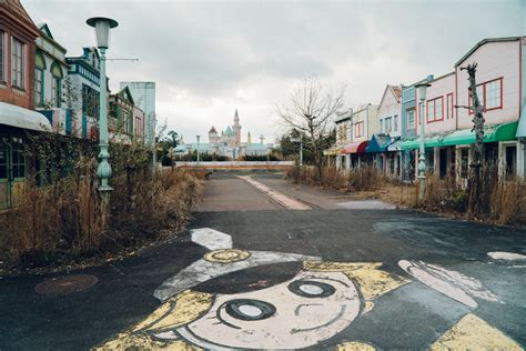 dreamland japan japan nara dreamland abandoned theme park wrenee