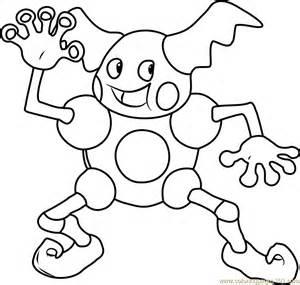 mr mime pokemon coloring page free pok 233 mon coloring