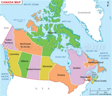 canadian map provinces map of canada rocky mountains