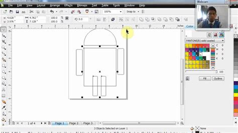 tutorial coreldraw membuat logo youtube tutorial membuat logo android di corel youtube