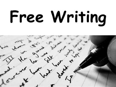 Free Write Essay by Free Writing